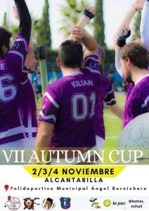 0 Cartel del VII AUTUMN CUP Alcantarilla 2018